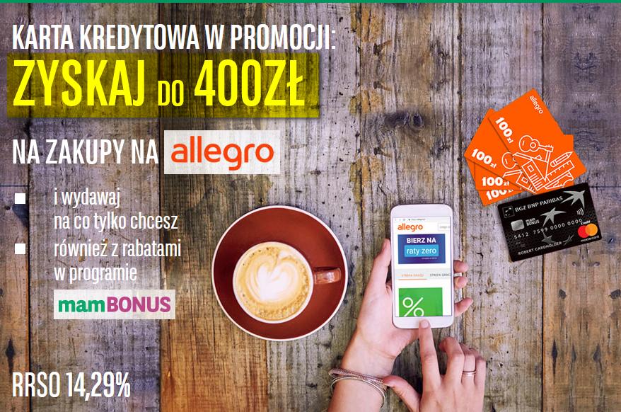 Finanse Po Godzinach Powrót Oferty 400 Zł Na Zakupy Na Allegro Za