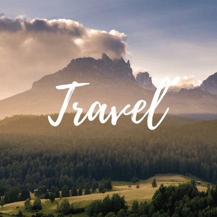 Travel in order to regain your drive to write