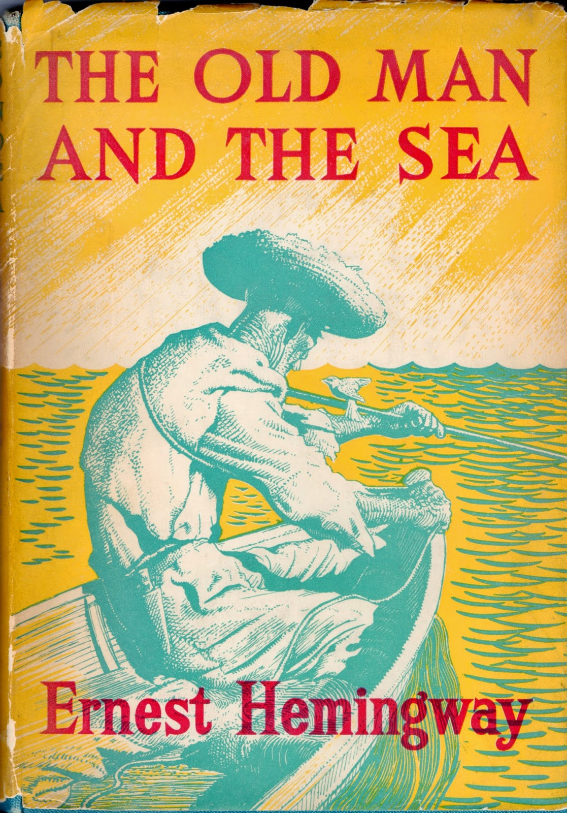 The hero old man santiago in the novel the old man and the sea by ernest hemingway