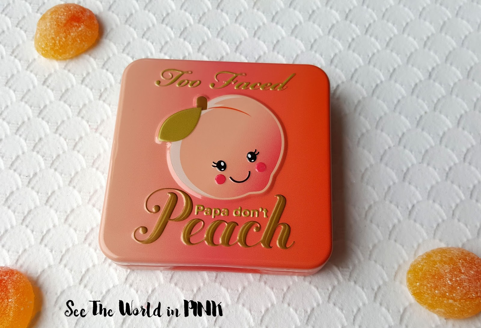 "Too Faced Sweet Peach ""Papa Don't Peach Blush"" - Swatches and Review!"