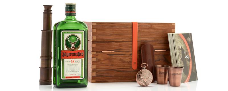 Kit VIP de Jägermeister  para influencers de bebidas espirituosas