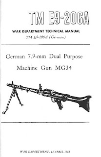 German 7.9-mm, Dual Purpose Machine Gun, MG34
