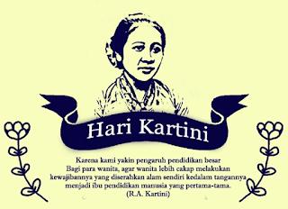 Kata-Kata dan Kartu Ucapan Selamat Hari Kartini 21 April 2018