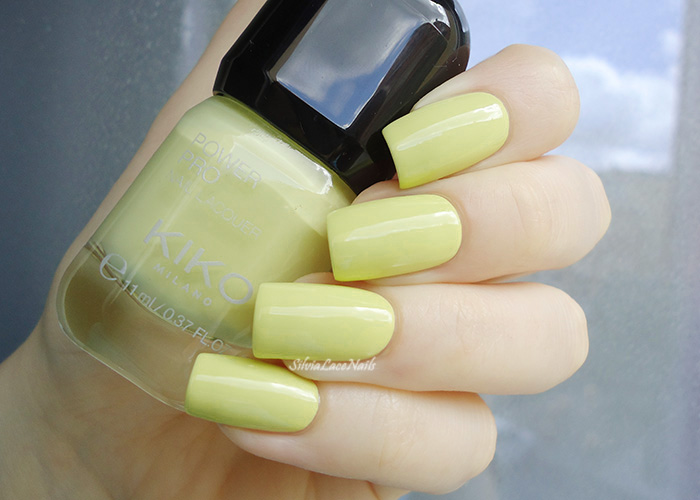 KIKO Power Pro 32 Lime Green: swatches
