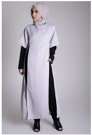 Style fashion busana muslim modern untuk tubuh mungil Fashion style untuk orang kurus