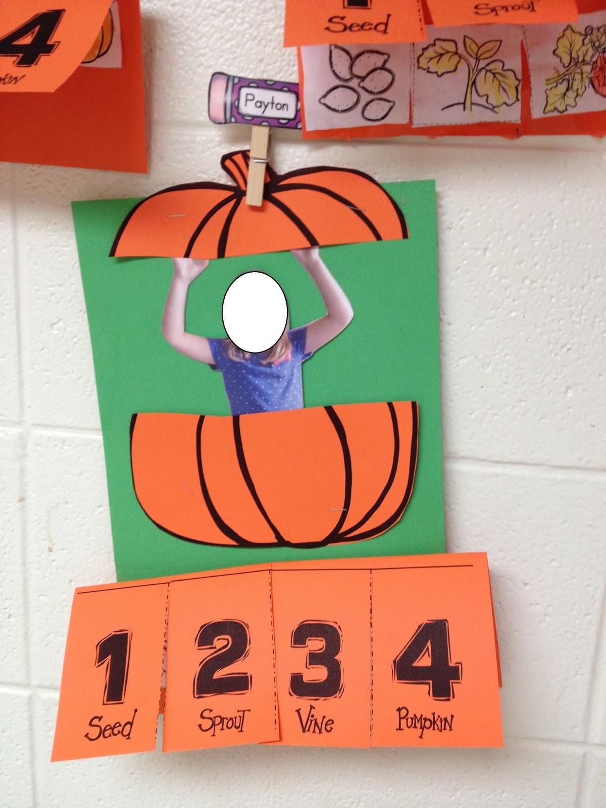 Pumpkin Themed Literacy