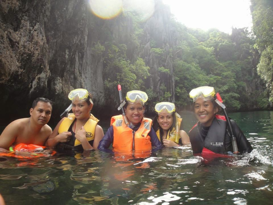 Secret Lagoon at El Nido