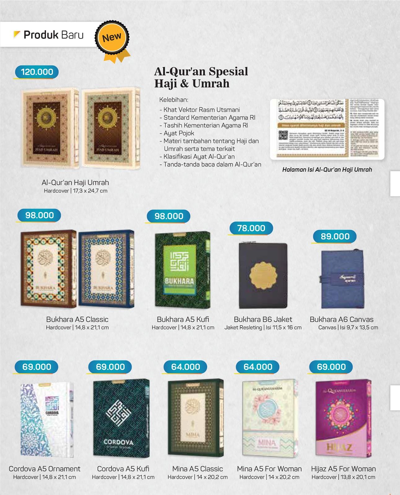 Dapatkan produk baru Quran Syamil di blibuku.online