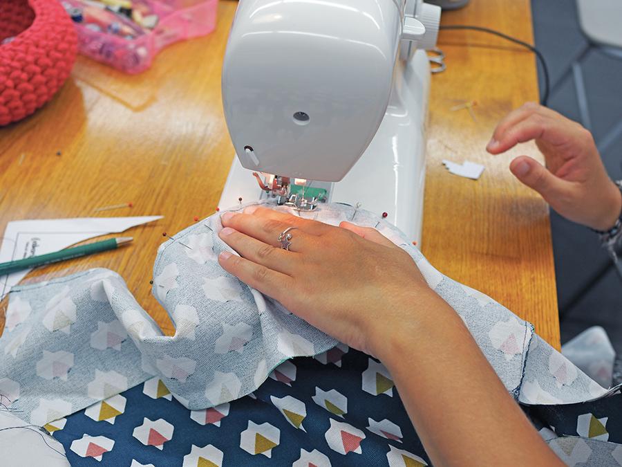 mon atelier couture chez mondial tissus