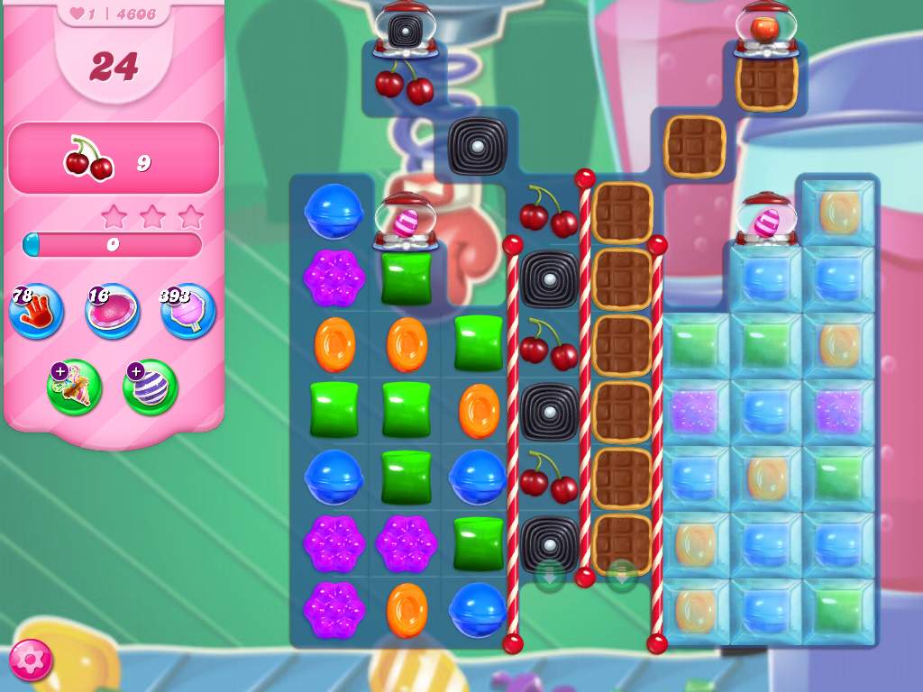 Candy Crush Saga level 4606