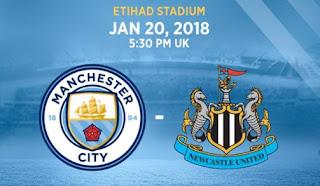 Susunan Pemain Manchester City vs Newcastle United