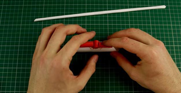 Cách làm súng bắn 5 viên đạn bằng giấy