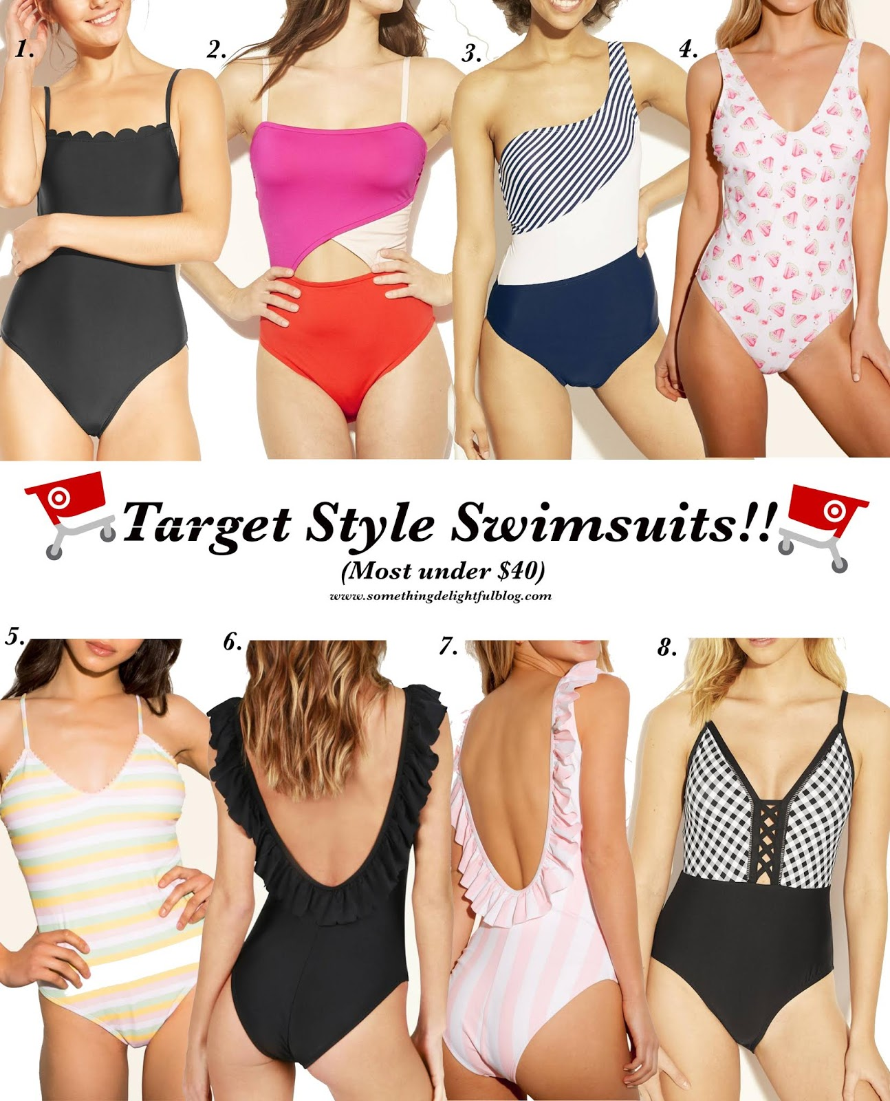 Target Style Swimsuits - Something Delightful Blog