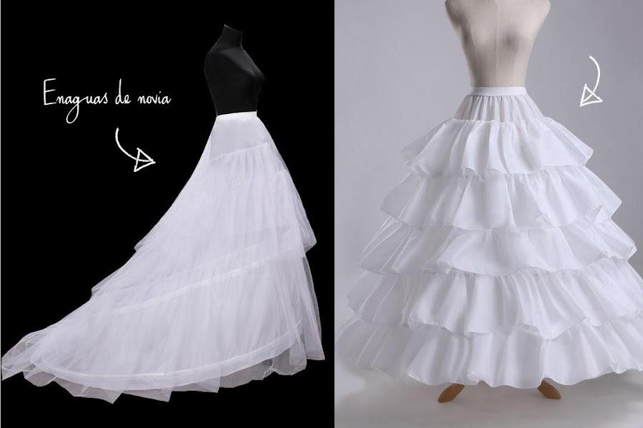 enaguas de novia