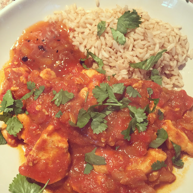Curry using Geeta's Curry Paste from Degustabox