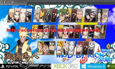 Naruto Senki Mod Ricky Apk Terbaru