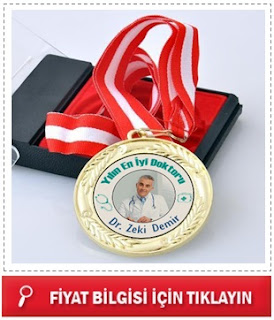 Fotoğraflı Yılın En İyi Doktoru Madalyonu