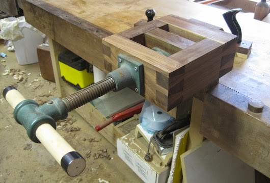 Tenoning Jig and Chairmakers Saw