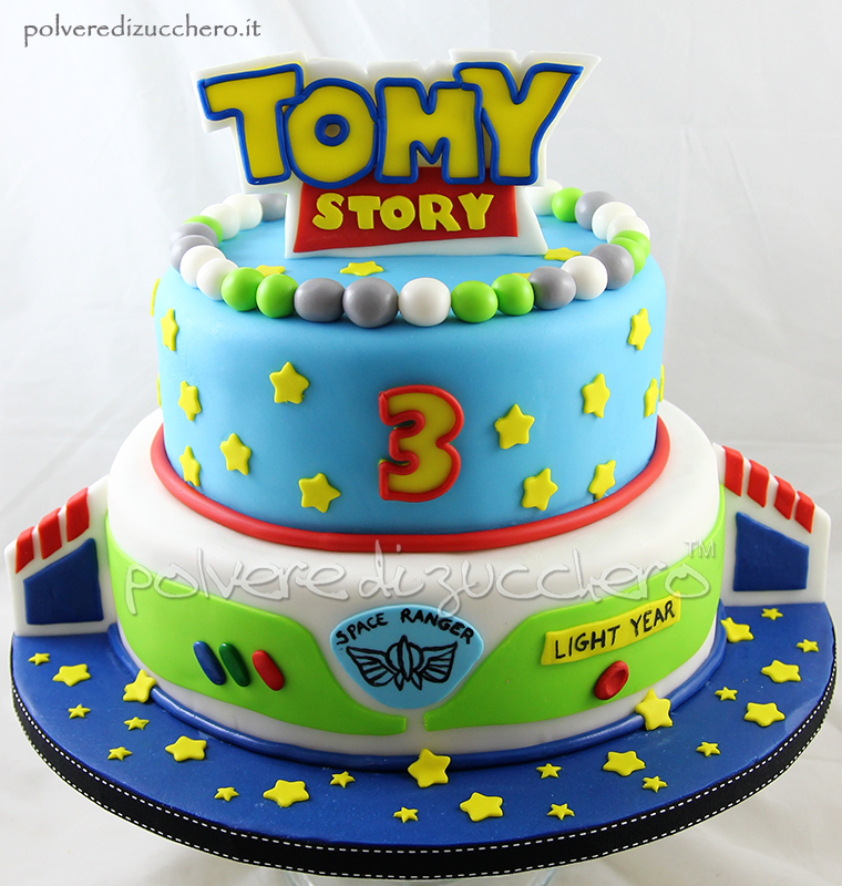 Torta a tema Toy Story Disney per un bimbo | Polvere di Zucchero