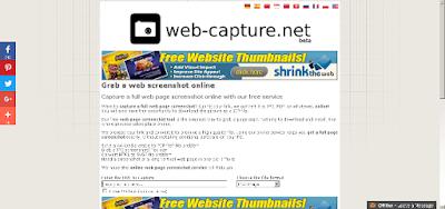 Catatan Ikrom Screenshot Web Capture