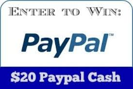 Win $20 PayPal Cash
