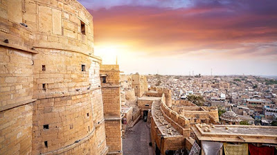 the golden fort jaisalmer, heritageofindia, Indian Heritage, World Heritage Sites in India, Heritage of India, Heritage India