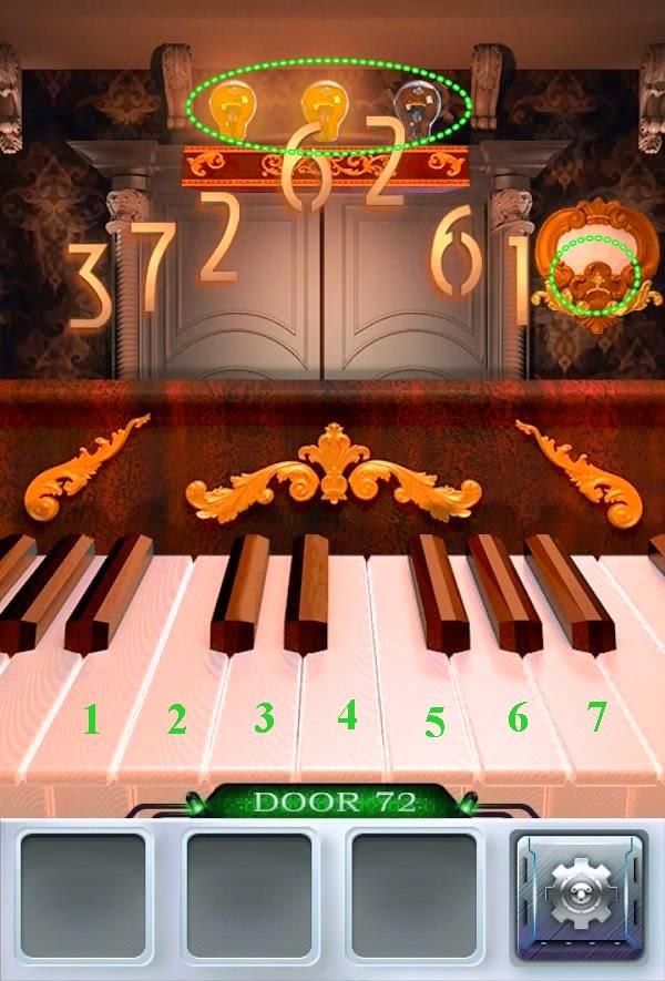 Solution 100 Doors 3 Level 71 72 73 74 75