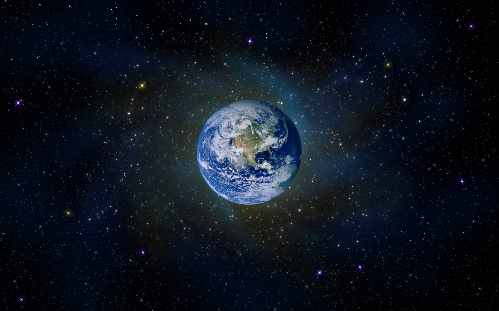 Planet Earth From Space Wallpaper: Planet Earth Space HD And Desktop Wallpaper