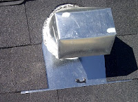 Roof Vent with Flashing