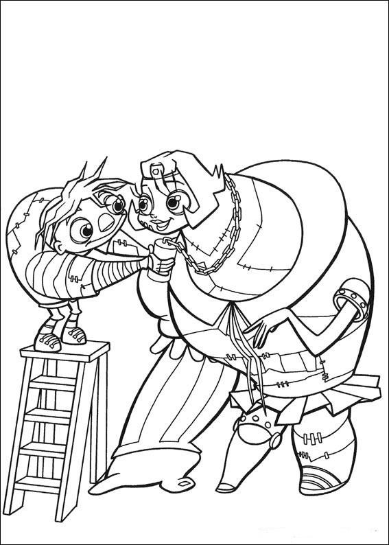 Dibujos Animados Para Colorear Igor Para Colorear
