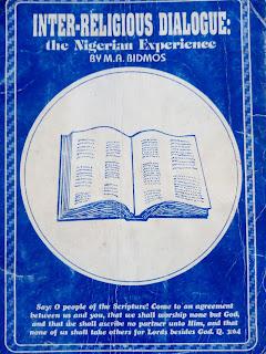 INTER-RELIGIOUS DIALOGUE: A NIGERIAN EXPERIENCE