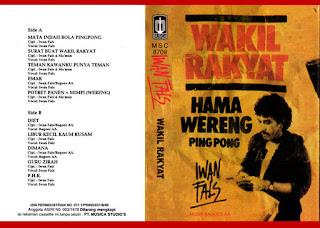 Iwan Fals - Album Wakil Rakyat (1987)