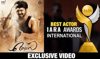 IARA AWARDS 2018 Best Actor | Thalapathy Vijay