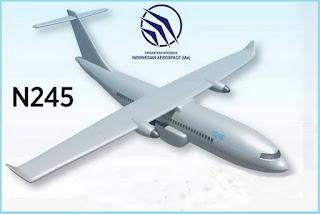 Pesawat N245 PTDI