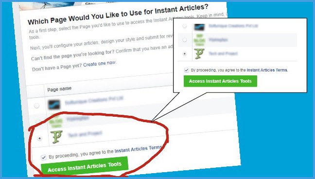 Cara Membuat Facebook Instant Articles Blogger Blogspot