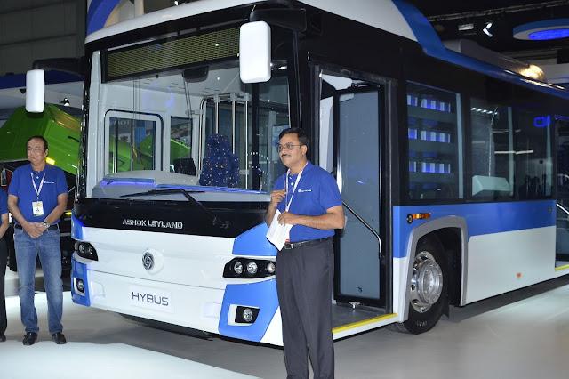 Ashok Leyland Hybus Auto Expo 2016