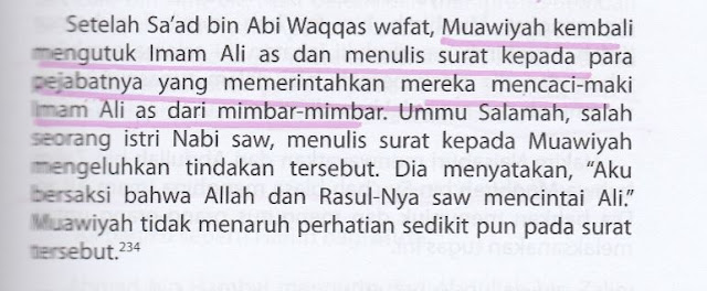 Syiah Menuduh Muawiyah Gemar Mengutuk dan Mencaci Maki Ali bin Abi Thalib