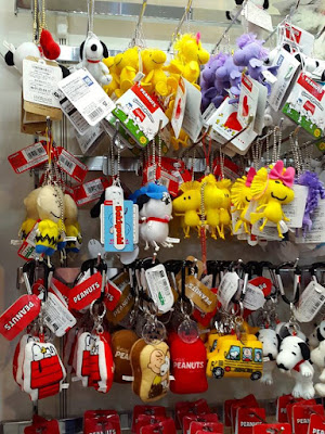 Snoopy and Woodstock Mobile Chains at Kiddy Land
