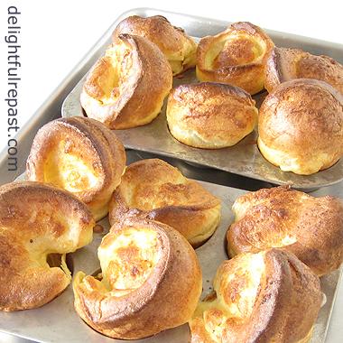 Yorkshire Pudding - Yorkies / www.delightfulrepast.com
