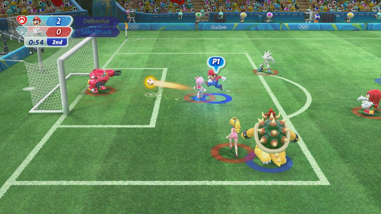 c33927e0b A cidade olímpica no Rio de Janeiro sem dúvida vai ficar muito mais animada  com a chegada dos atletas das séries Mario e Sonic