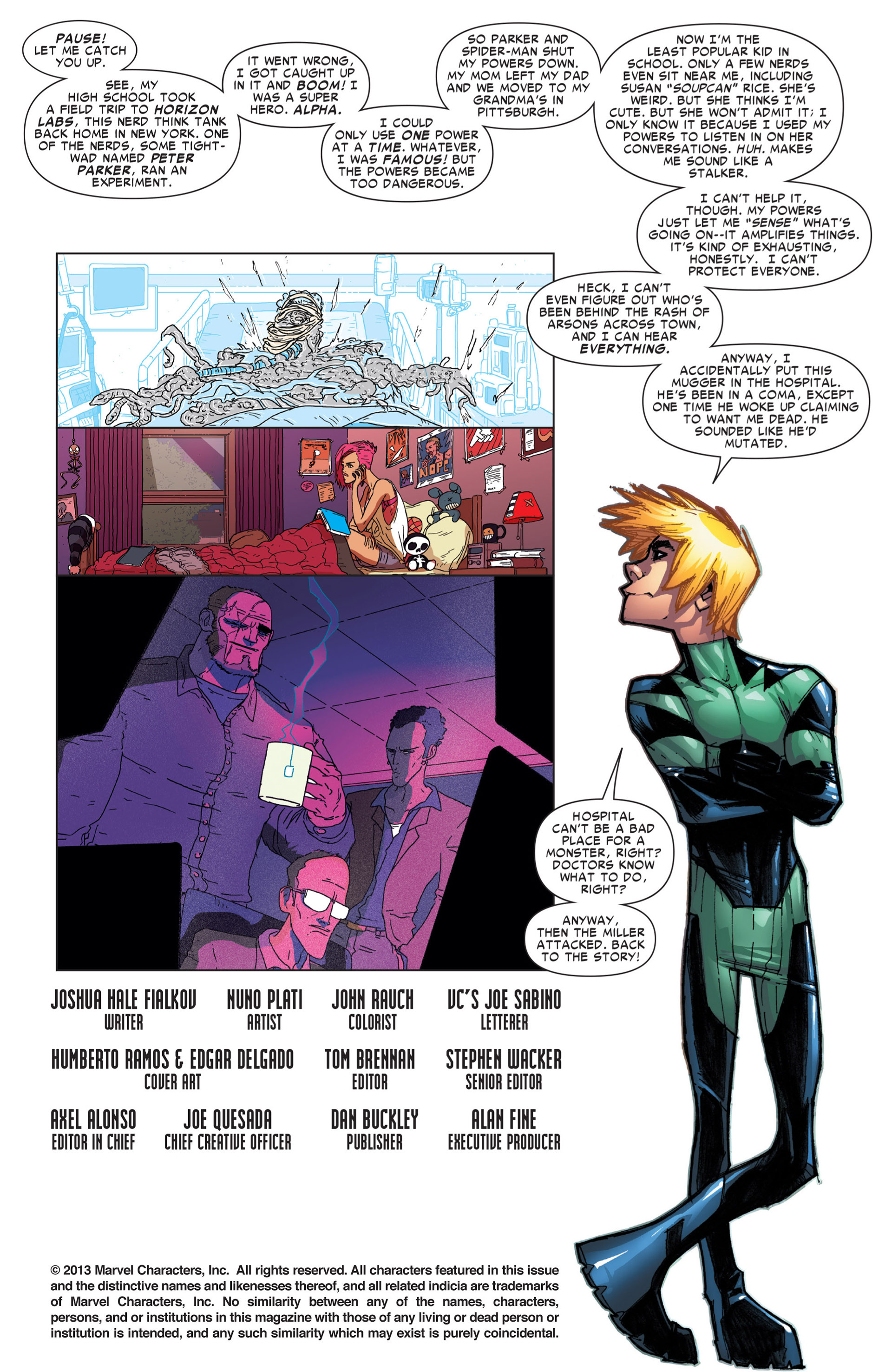 Read online Alpha - Big Time comic -  Issue #4 - 4