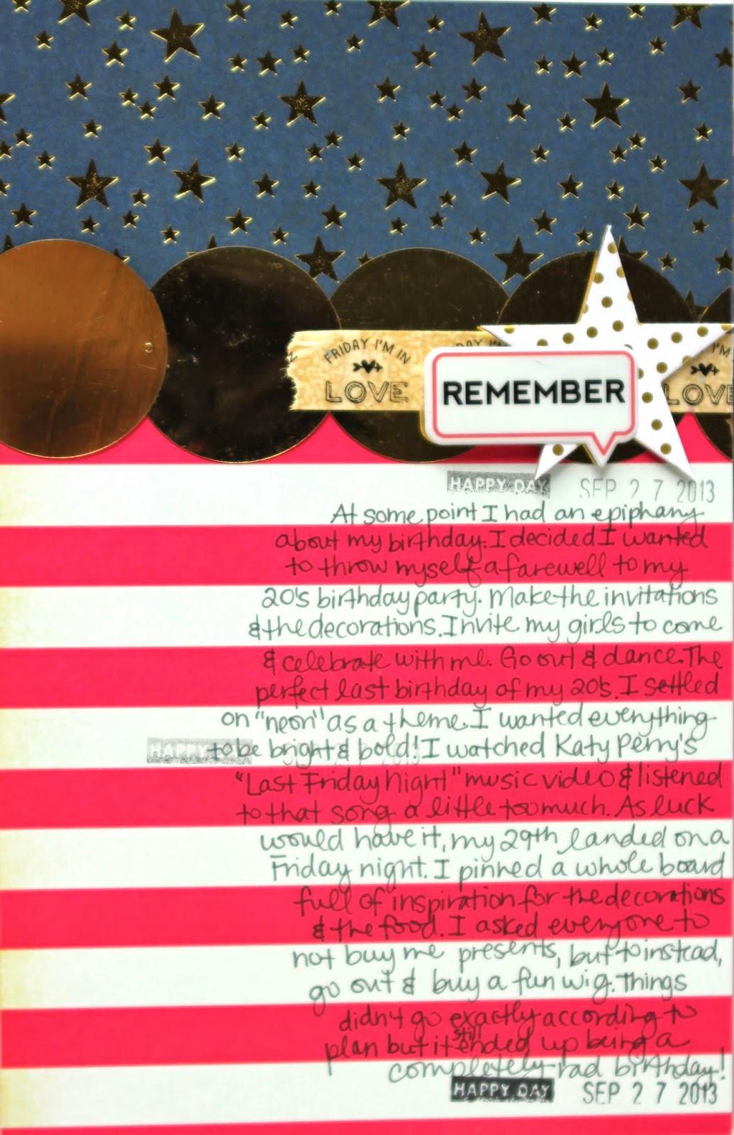 Jamie Leija Neon Birthday Card: Jamie Leija: Finished Project