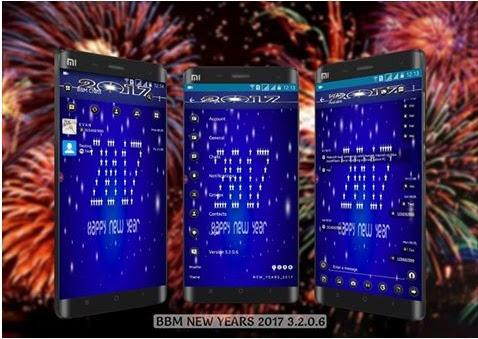 Download BBM Mod Versi 3.2.0.6 Special New Year 2017 New Apk Terbaru