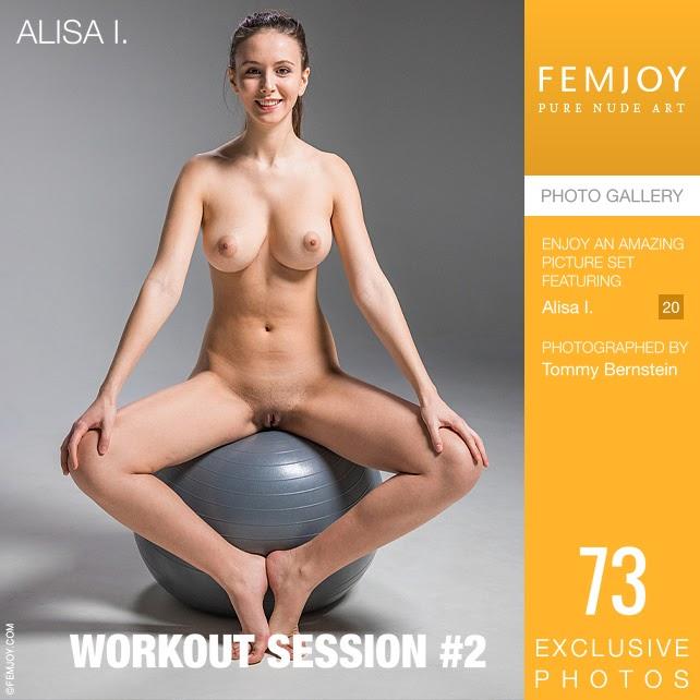 [FemJoy] Alisa I - Workout Session #2