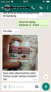 testimoni obat de nature herbal