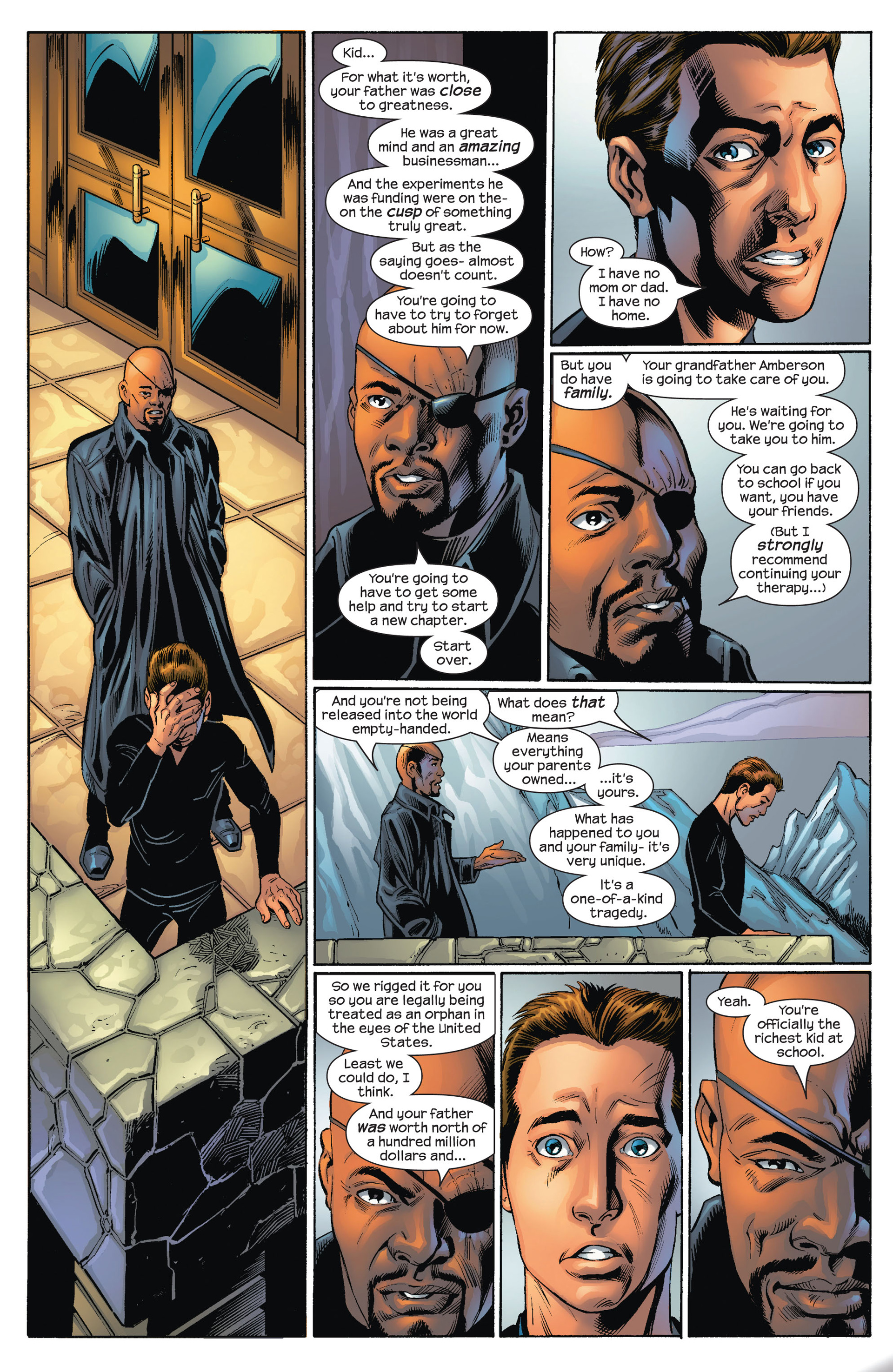 Read online Ultimate Spider-Man (2000) comic -  Issue #73 - 8
