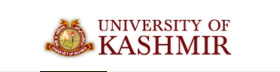 Kashmir university 2016 Results