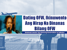 Not all Overseas Filipino Workers find their luck in working abroad. There are some OFWs who succeeded and made their lives better but no for many OFWs who had been maltreated and abused.  the common thing about the Filipinos why they want to work abroad is that they want to find greener pastures to support their family and to give them a better future.   about a big chunk of OFWs come to the Middle East, particularly in Kuwait, UAE and Saudi Arabia where reports of abuse are rampant. Being in an unfamiliar territory with people with strange culture is already a burden that could put you in shock, how much more if your fellow Filipino, whom you expect to help you are the ones who would never even think twice on despising you?  Sponsored Links  That's what actually happens to some OFWs in many parts of the world. It may not happened to you but it happens to many.    Cindy Tabucol, 36, married with 3 kids, was a former OFW in Kuwait. The first three months of her work was fine until her colleague, a Filipina went for vacation. That's when she noticed that her employer was acting odd towards her. In many instances, she had been quickly get angry with her. Cindy experienced being slapped and spitted on. Until such time that she couldn't take it anymore, she told it to her husband and he went to POEA to complain about her wife's working condition. Cindy has been repatriated and now in the company of her beloved family.  She may not found her fortune abroad but she got it one day when a long running noontime show hosts visited their place in Pandacan , Manila. Her cash winnings may not be huge but it will be enough for her family to start a new business that may ensure a better future for her family.   Advertisement  Read More:                 ©2017 THOUGHTSKOTO