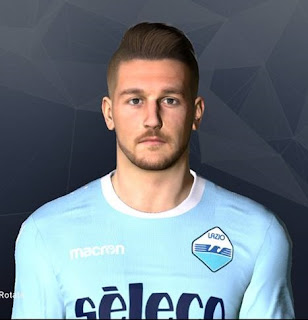 PES 2017 Faces Sergej Milinković-Savić by Facemaker Ahmed El Shenawy