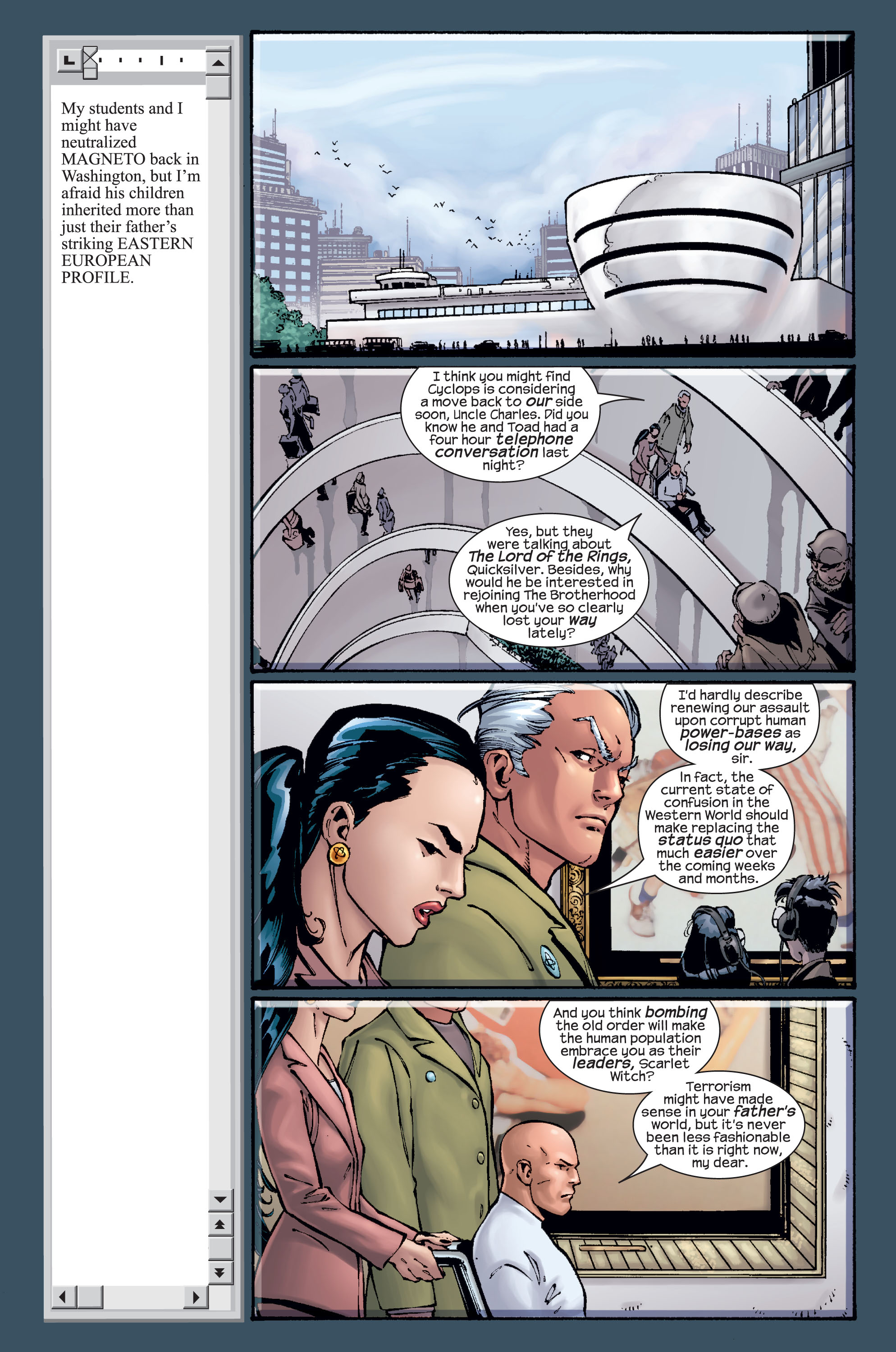 Read online Ultimate X-Men comic -  Issue #15 - 13